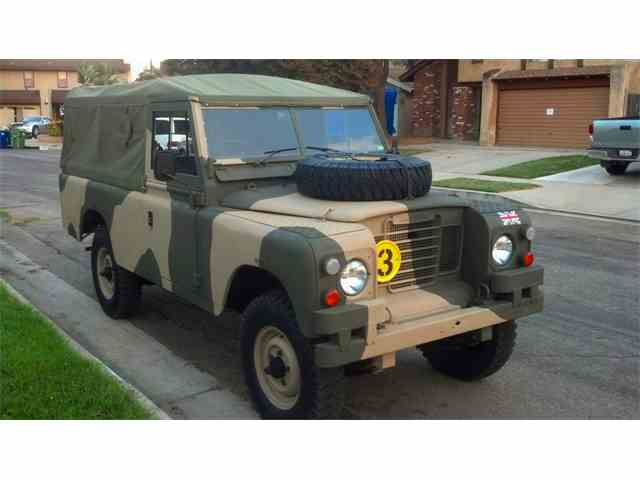 Picture of '73 Land Rover Series IIA Offered by a Private Seller - MR6I