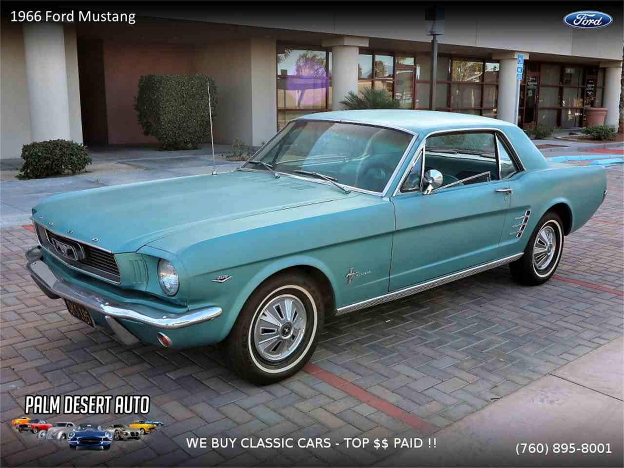 1966 Ford Mustang for Sale | ClassicCars.com | CC-1061697