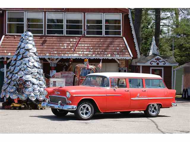 Picture of Classic '55 Chevrolet Bel Air Wagon - MR9A
