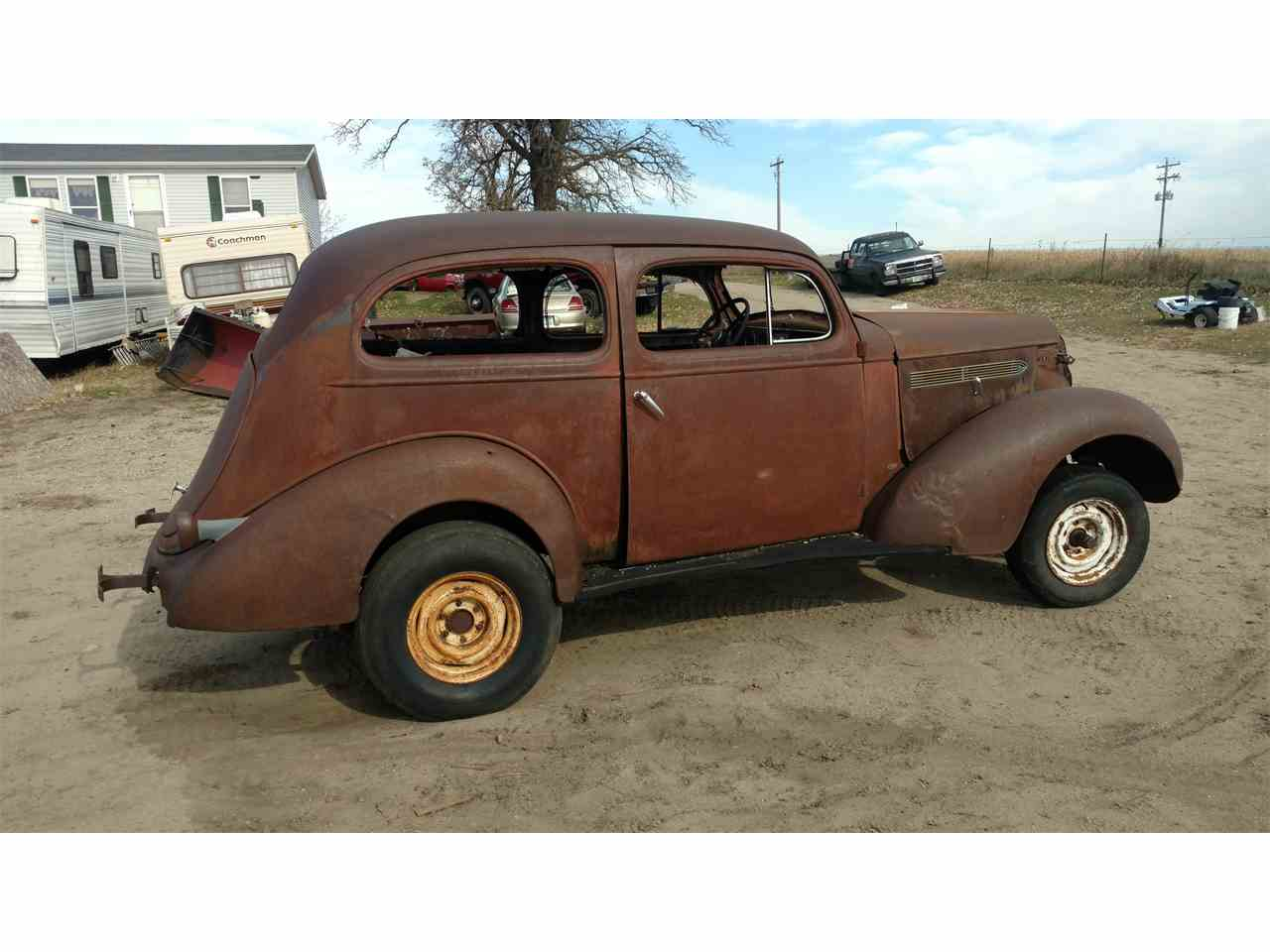 1936 pontiac 2 dr sedan for sale cc 1061966. Black Bedroom Furniture Sets. Home Design Ideas