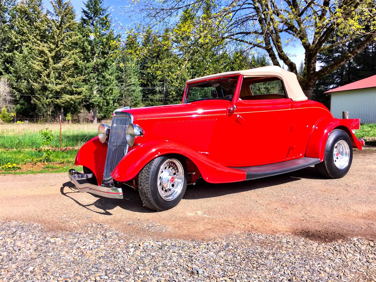 Large Picture of Classic '34 Cabriolet located in Vancouver Washington Offered by a Private Seller - MRLT
