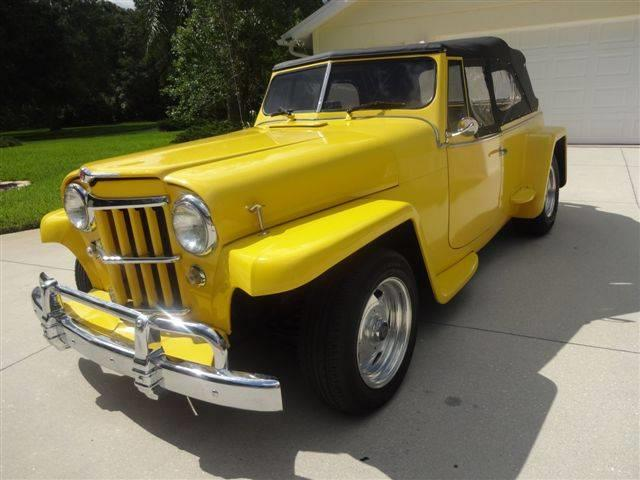 Picture of Classic 1948 Jeepster located in Florida - MRQF