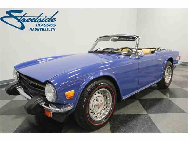 Picture of '76 TR6 - MRSB