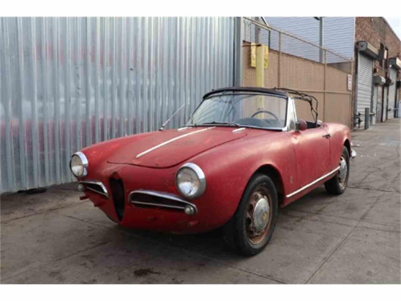 1961 alfa romeo giulietta spider veloce for sale | classiccars