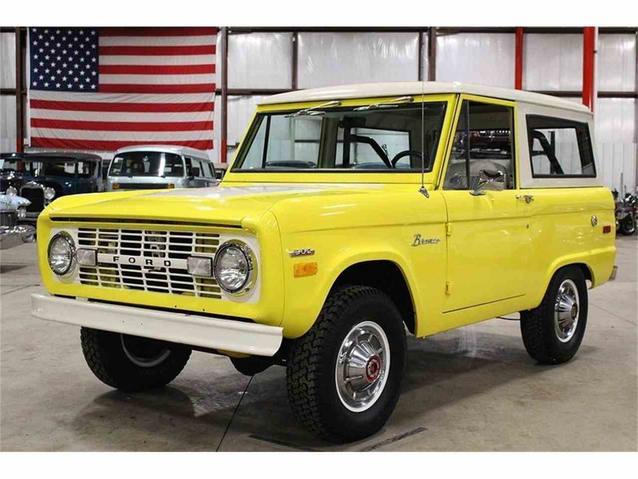 1971 ford bronco for sale cc 1062641. Black Bedroom Furniture Sets. Home Design Ideas