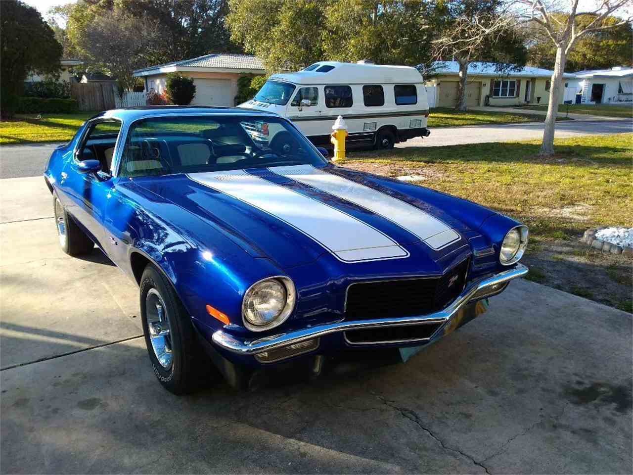 1970 chevrolet camaro z28 for sale cc 1062653. Black Bedroom Furniture Sets. Home Design Ideas