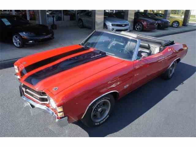 Picture of '71 Chevelle SS 454 Convertible - MS08