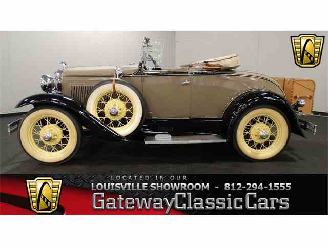 Picture of Classic 1931 Ford Roadster Offered by Gateway Classic Cars - Louisville - MS36