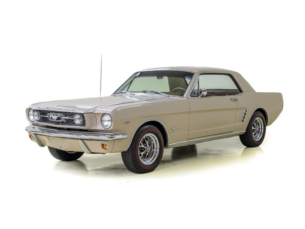 Large Picture of '66 Mustang - MSIE