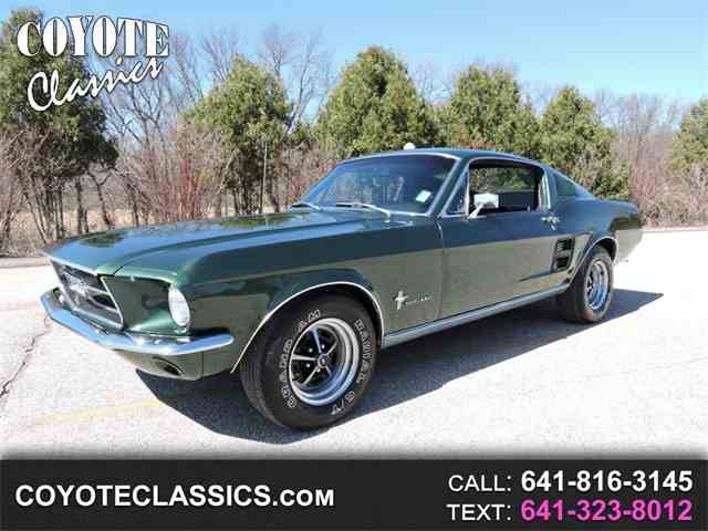 Picture of 1967 Ford Mustang - $37,995.00 - MSRP