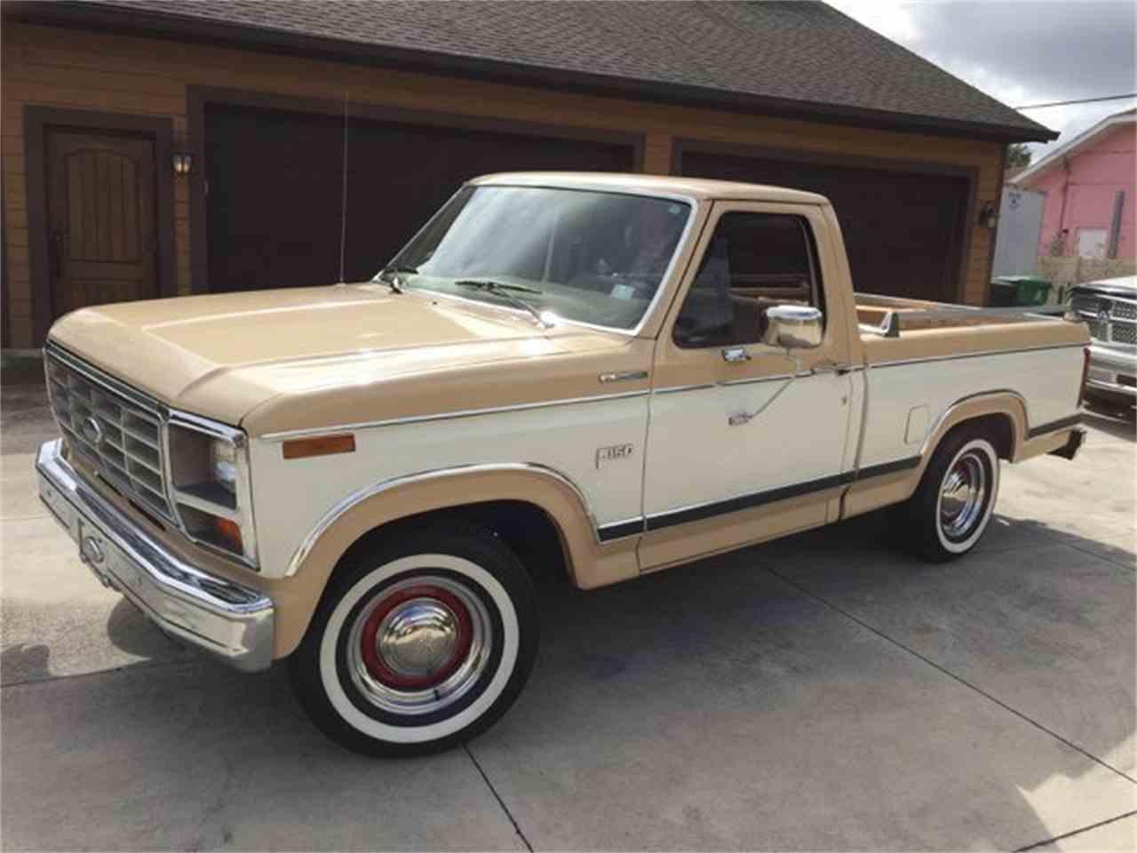 1984 ford ranger xl pickup for sale cc 1063730. Black Bedroom Furniture Sets. Home Design Ideas