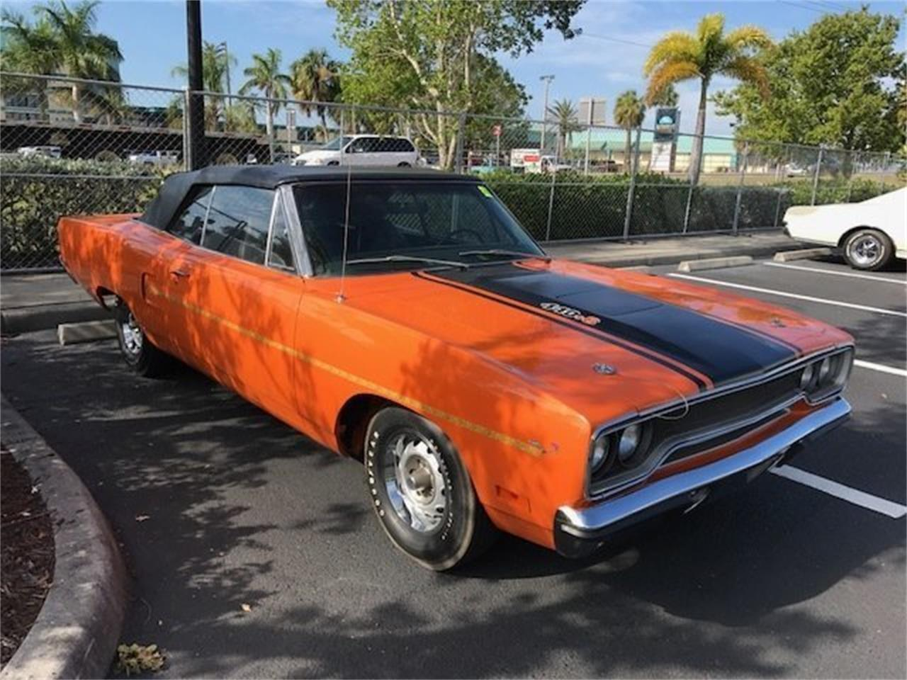 Large Picture of Classic 1970 Road Runner Convertible located in Punta Gorda Florida Auction Vehicle Offered by Premier Auction Group - MSSF
