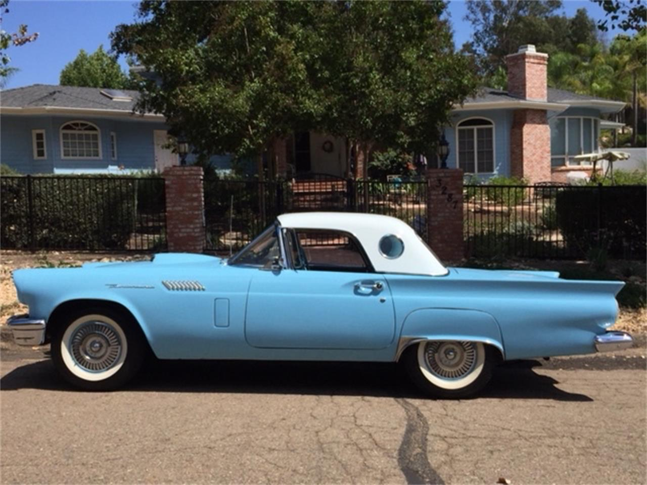 1957 ford thunderbird for sale classiccars cc 1063852 large picture of 57 thunderbird msvg publicscrutiny Images