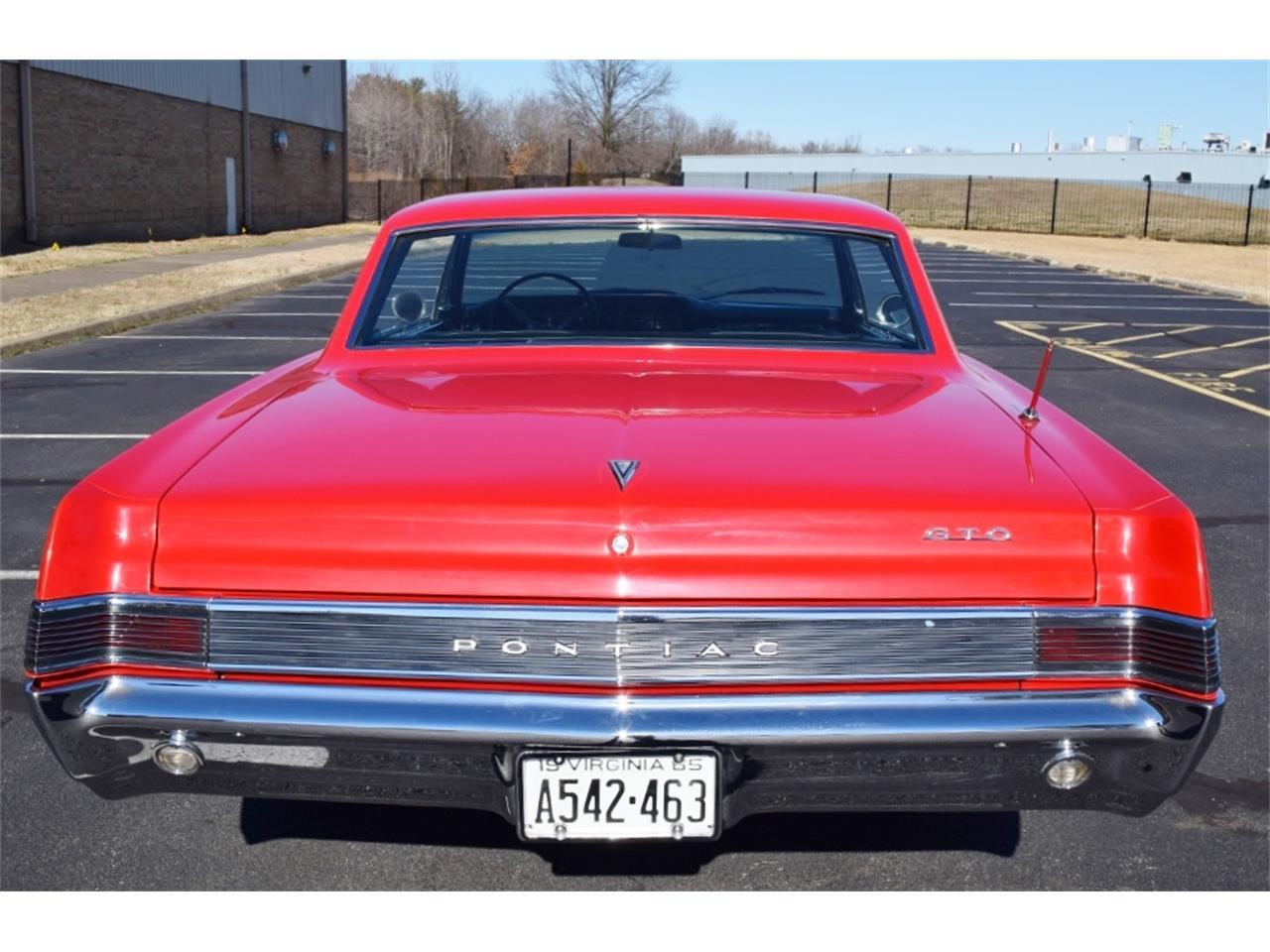 Large Picture of 1965 Pontiac GTO located in Fredericksburg Virginia - $57,900.00 - MSVJ