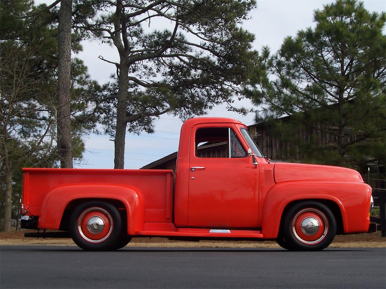 1955 Ford F100 For Sale Cc 1063862 Red Large Picture Of 55 Msvq