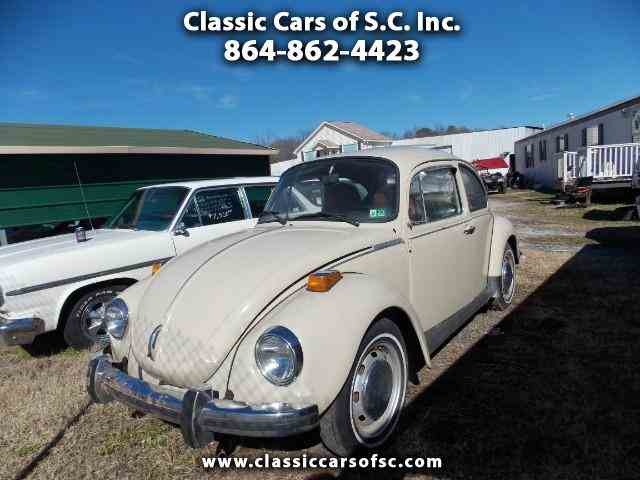 Picture of Classic 1973 Beetle - $4,500.00 Offered by Classic Cars of South Carolina - MSWJ