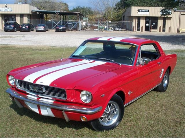 Picture of 1966 Ford Mustang located in CYPRESS Texas - $17,995.00 Offered by  - MT1X