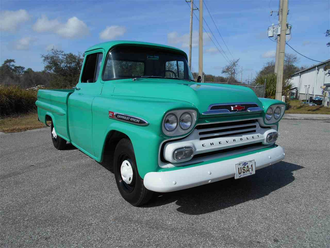1959 chevrolet apache for sale cc 1064092. Black Bedroom Furniture Sets. Home Design Ideas