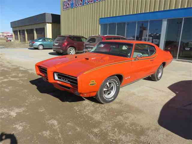 Picture of Classic '69 Pontiac GTO (The Judge) located in Saskatchewan Auction Vehicle - MQ8F