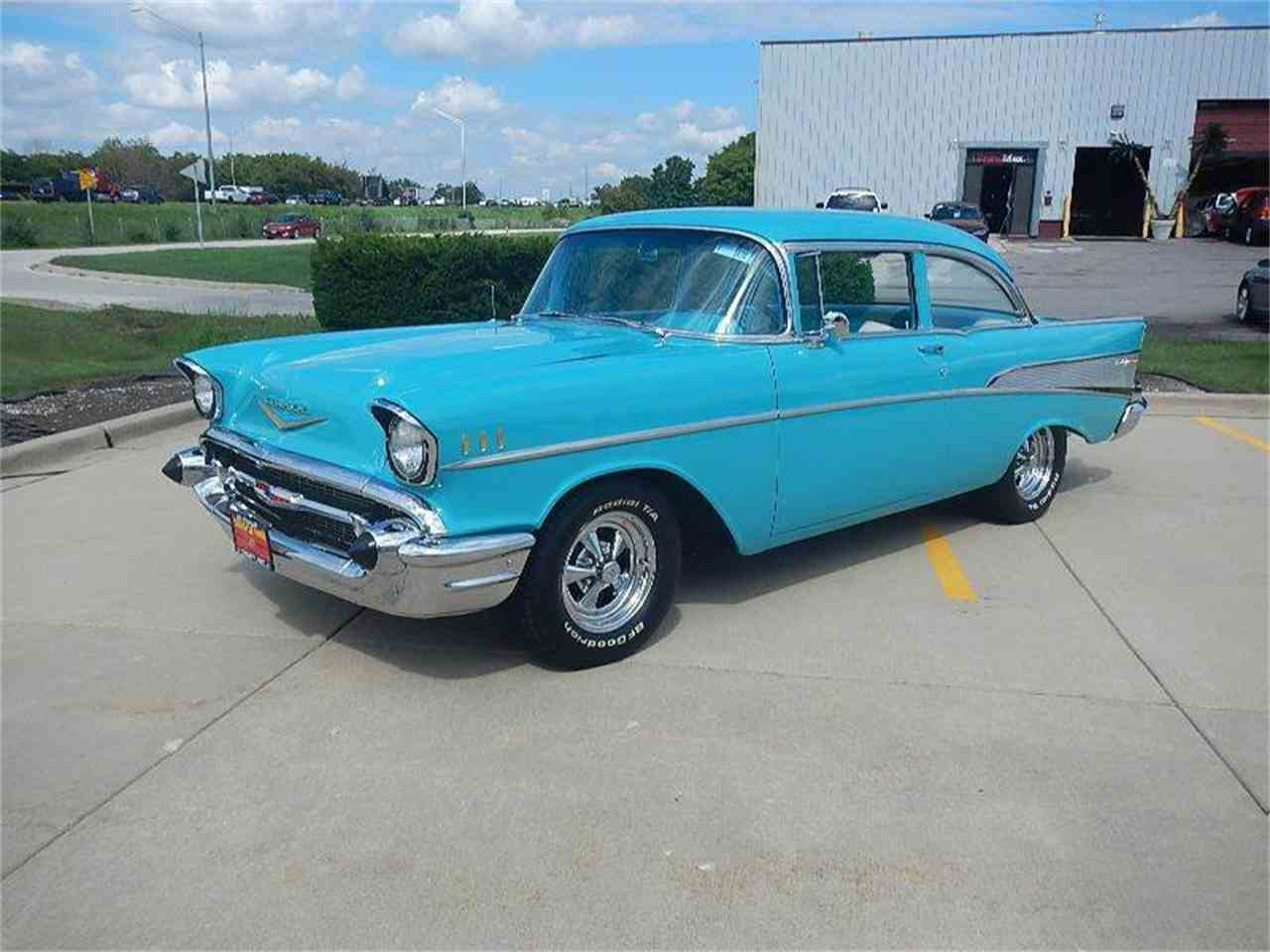 Large Picture of 1957 Chevrolet Bel Air located in Illinois - MTA0