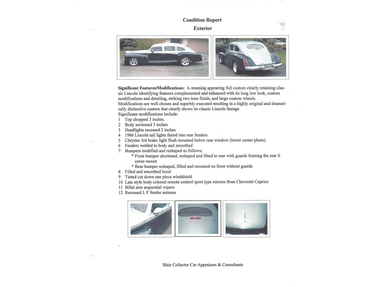 Large Picture of Classic '47 Lincoln Sedan - $53,900.00 - MTB6