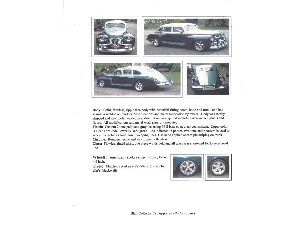 Large Picture of Classic '47 Sedan Offered by a Private Seller - MTB6