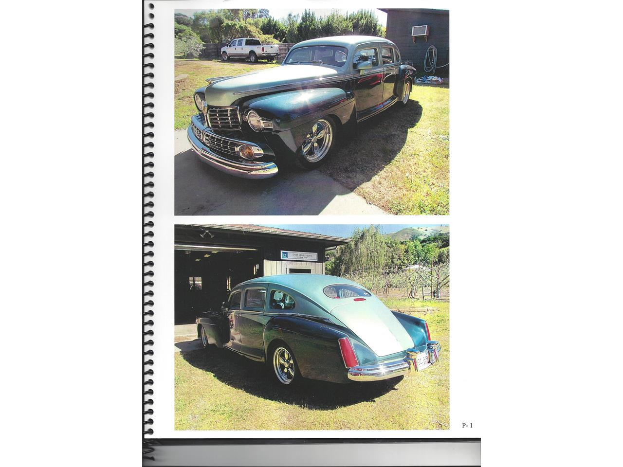 Large Picture of Classic '47 Lincoln Sedan Offered by a Private Seller - MTB6
