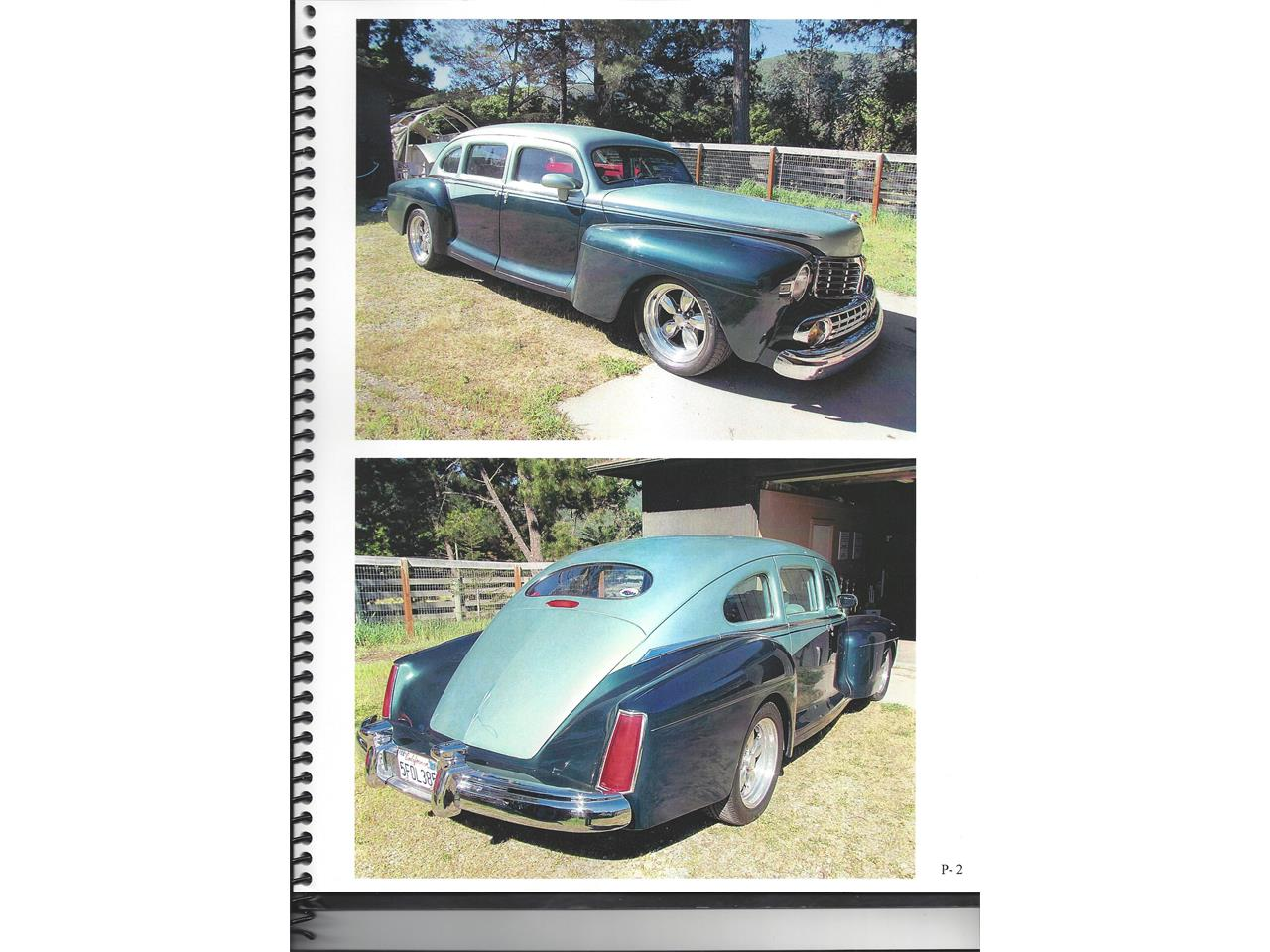 Large Picture of '47 Lincoln Sedan Offered by a Private Seller - MTB6