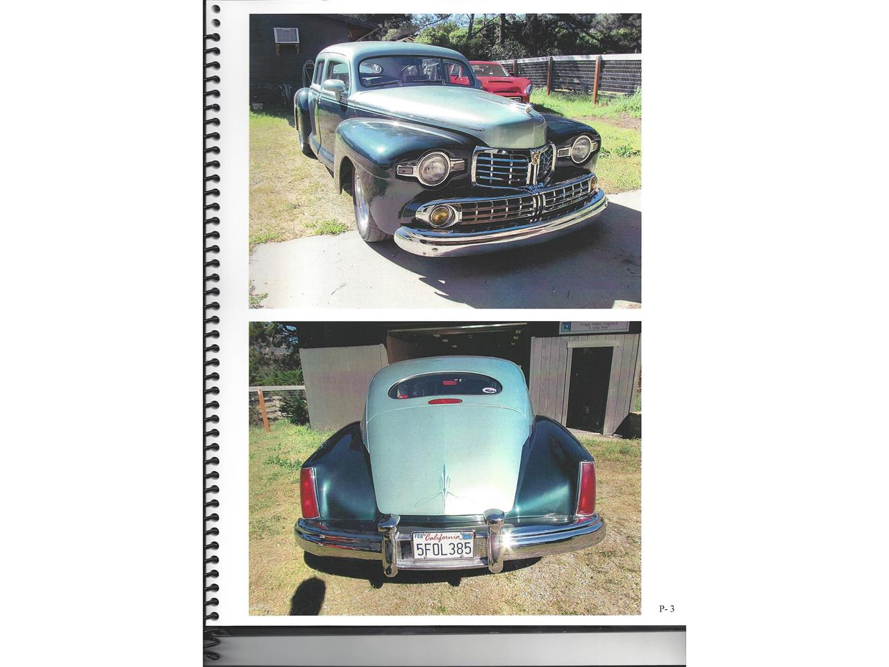 Large Picture of Classic '47 Lincoln Sedan located in Vicksburg Mississippi - MTB6