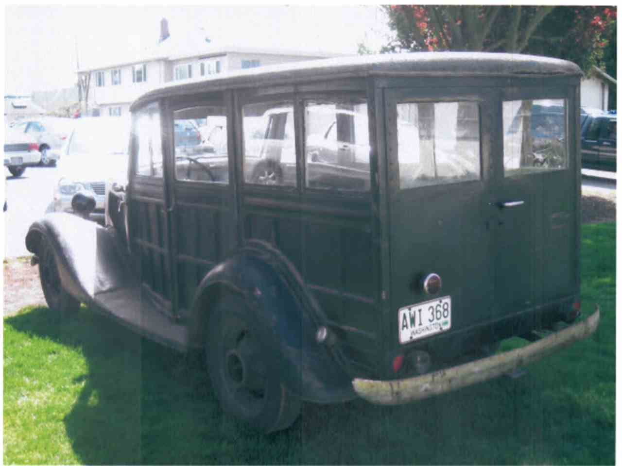 Large Picture of '33 Woody Wagon - MTHA