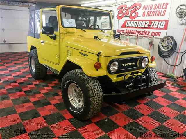 Picture of 1978 Toyota Land Cruiser FJ Offered by B & B Auto Sales - MTI1