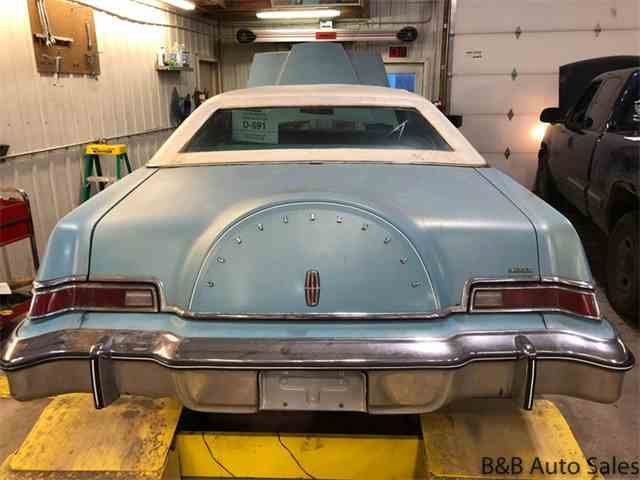 Picture of 1976 Lincoln Continental Mark IV located in Brookings South Dakota Offered by B & B Auto Sales - MTI2
