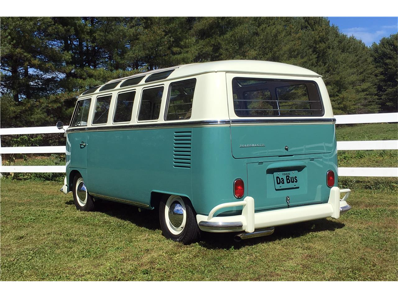 Large Picture of 1966 Volkswagen Bus located in Florida Auction Vehicle Offered by Barrett-Jackson Auctions - MTIL