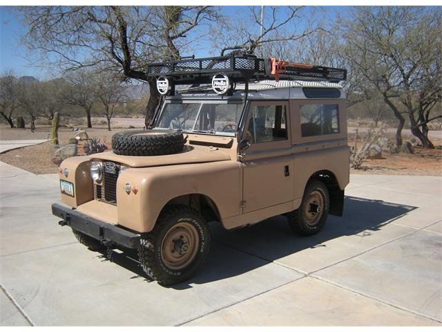 Picture of 1959 Land Rover Series II located in Rio Rico Arizona - $31,000.00 - MTJP