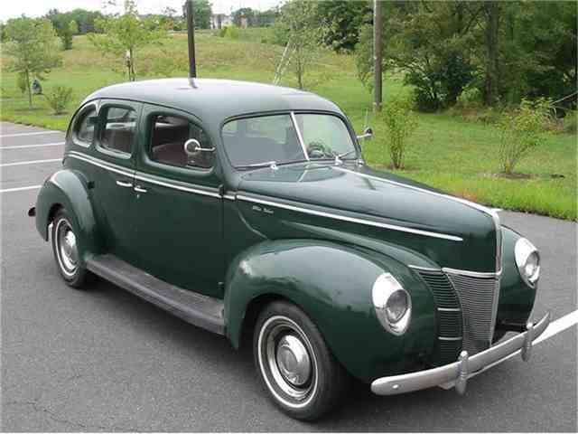 1940 ford deluxe for sale on. Black Bedroom Furniture Sets. Home Design Ideas