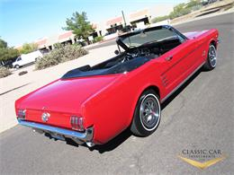 Picture of '66 Ford Mustang located in scottsdale Arizona - $29,500.00 Offered by Classic Car Investments LLC - MTOM