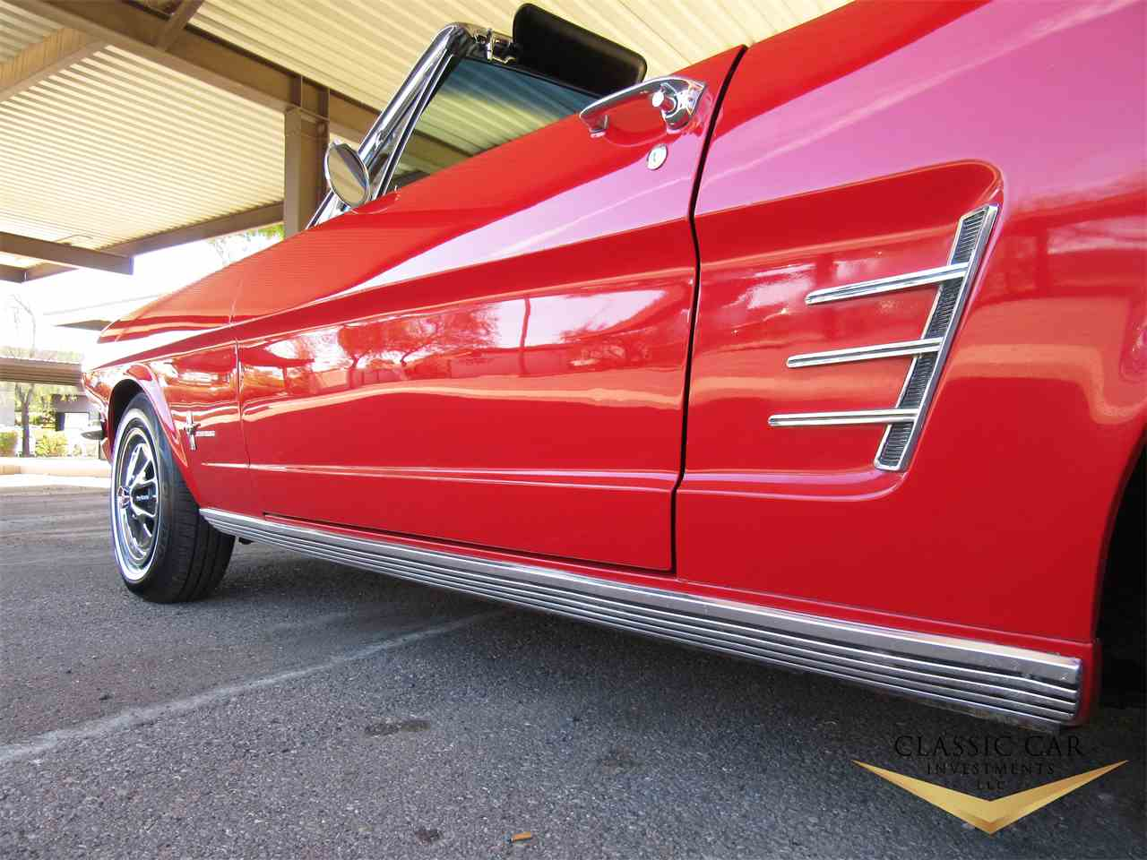 Large Picture of '66 Mustang located in scottsdale Arizona Offered by Classic Car Investments LLC - MTOM