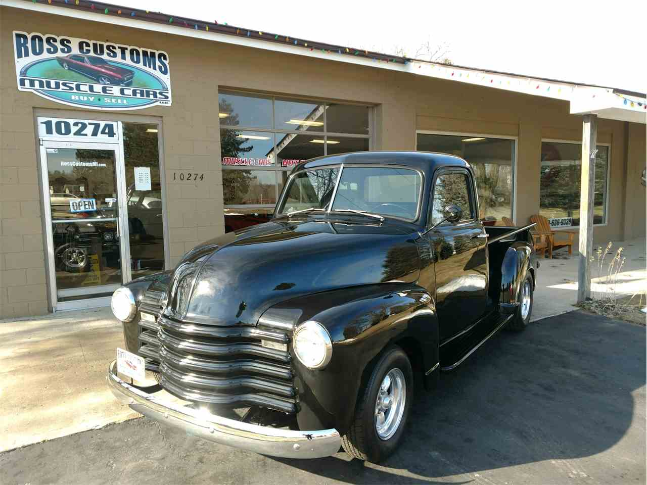 Large Picture of Classic '49 Chevrolet 3100 located in Goodrich Michigan Offered by Ross Custom Muscle Cars LLC - MTRO