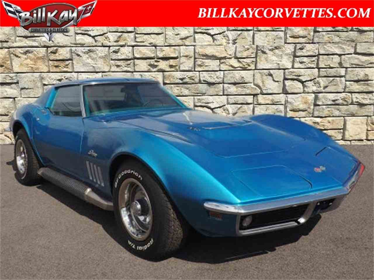 Large Picture of Classic '69 Chevrolet Corvette located in Illinois - $27,980.00 - MTY0