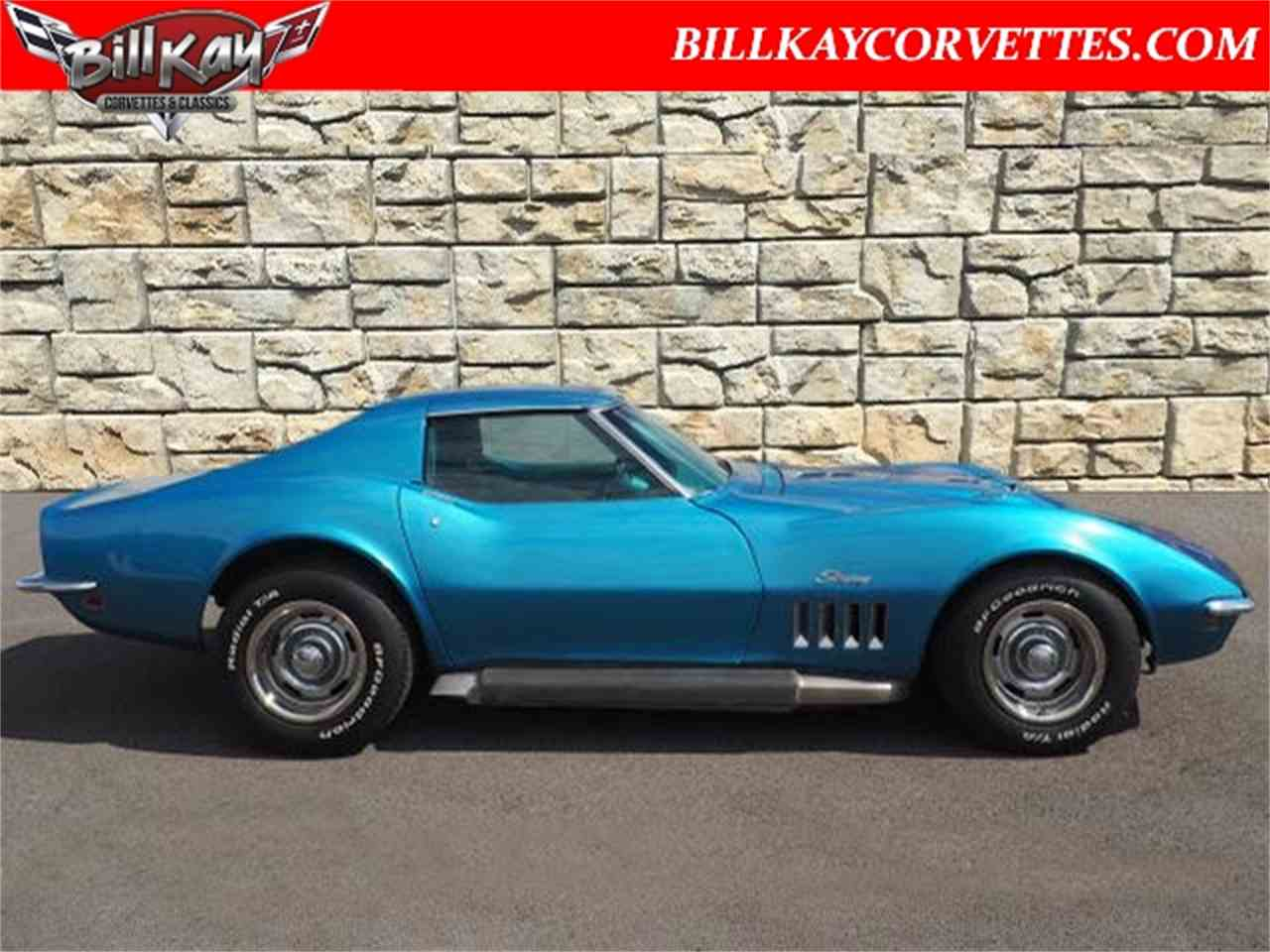 Large Picture of Classic '69 Chevrolet Corvette located in Downers Grove Illinois - $27,980.00 - MTY0