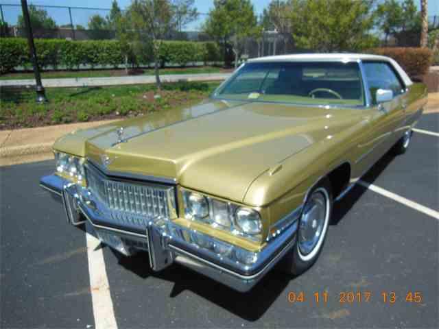 CC-1065316 1973 Cadillac Coupe DeVille