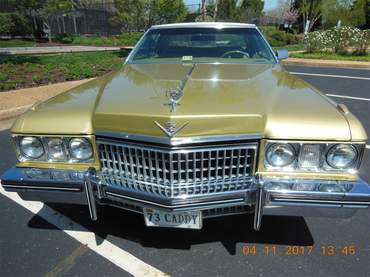 Large Picture of Classic '73 Cadillac Coupe DeVille located in Williamsburg Virginia - $16,990.00 Offered by a Private Seller - MU04