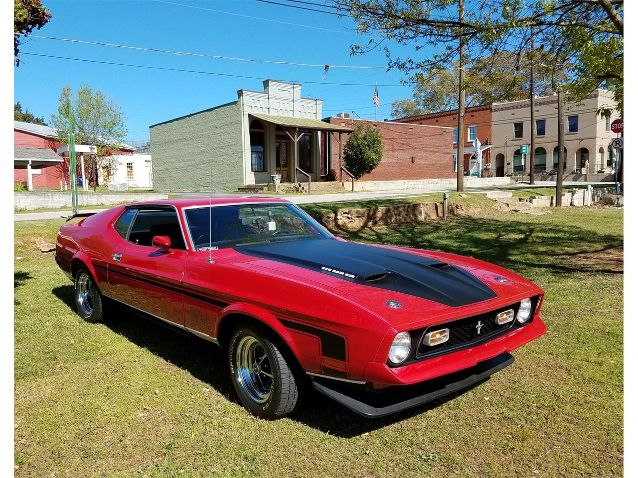 1972 Ford Mustang Mach 1 for Sale | ClassicCars.com | CC-1065343