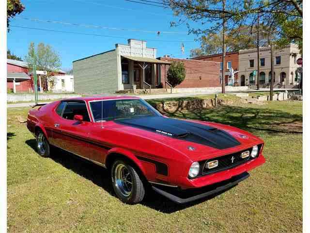 Picture of '72 Mustang Mach 1 - MU0V