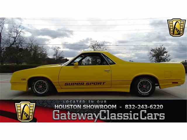 Picture of 1983 Chevrolet El Camino - $24,995.00 Offered by Gateway Classic Cars - Houston - MU1K