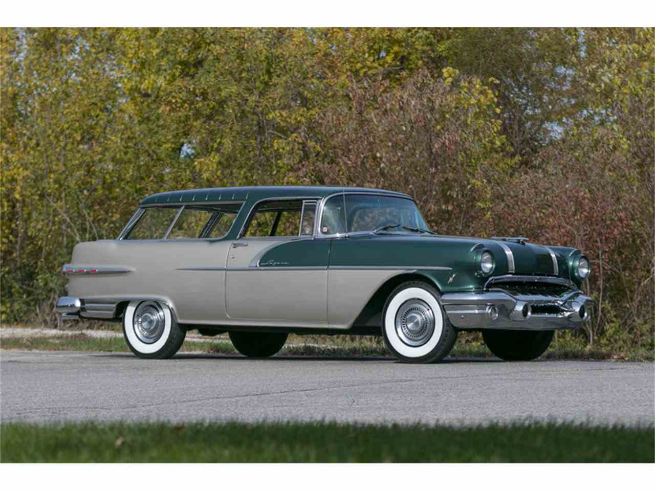 1956 Pontiac Safari Station Wagon For Sale Classiccars