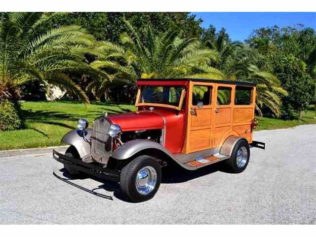 Picture of '30 Model A Woody Street Rod - MU2G