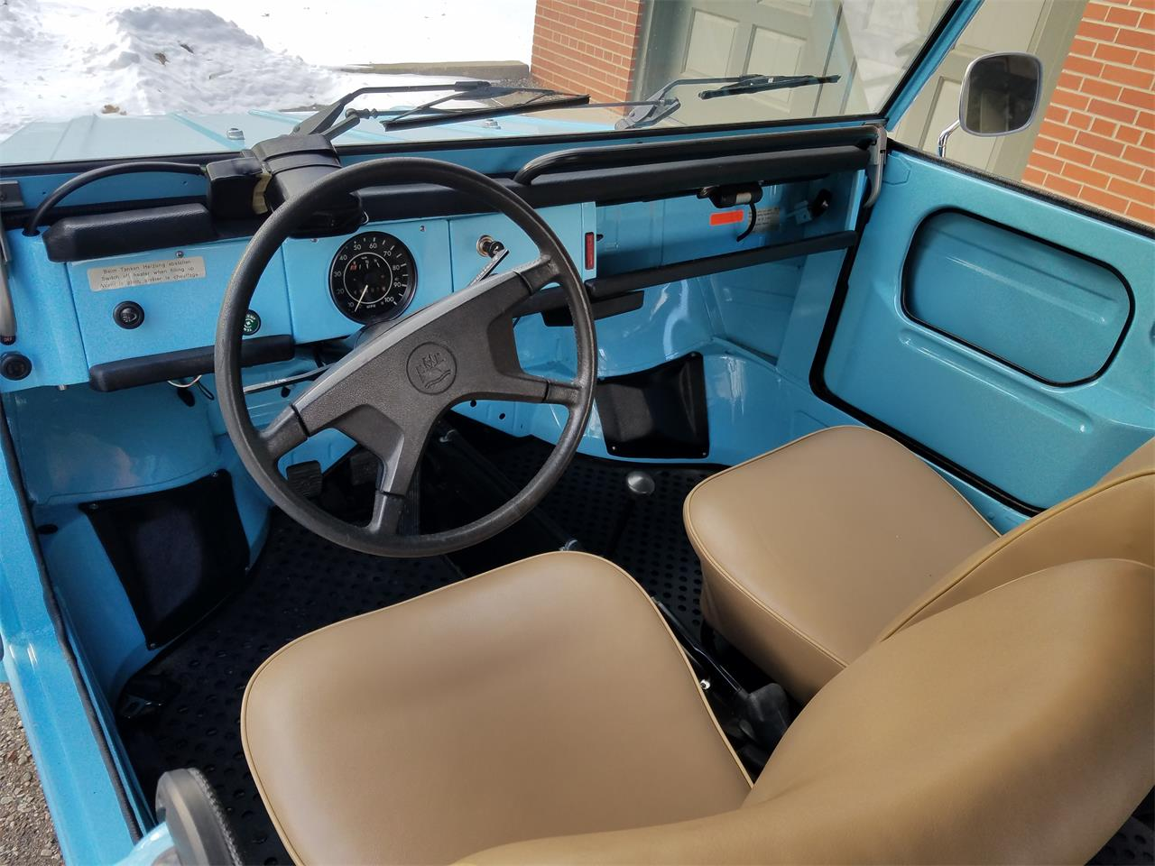 Large Picture of Classic 1972 Volkswagen Thing located in Washington Michigan - $23,000.00 Offered by Jack Frost Auto Museum - MU5G