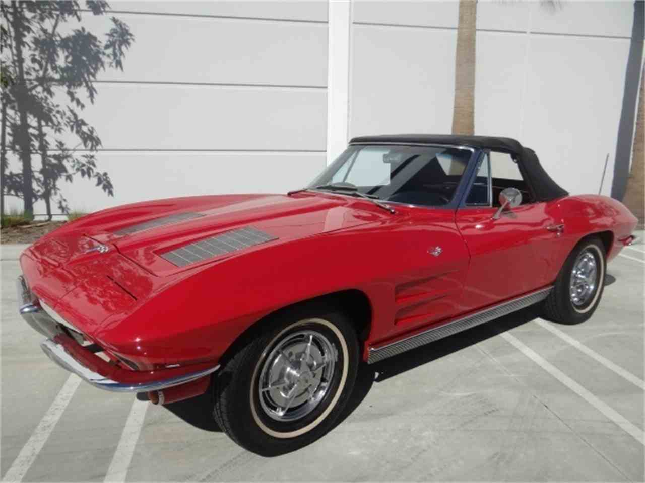 Large Picture of Classic '63 Chevrolet Corvette located in Anaheim California - $49,900.00 - MUAW