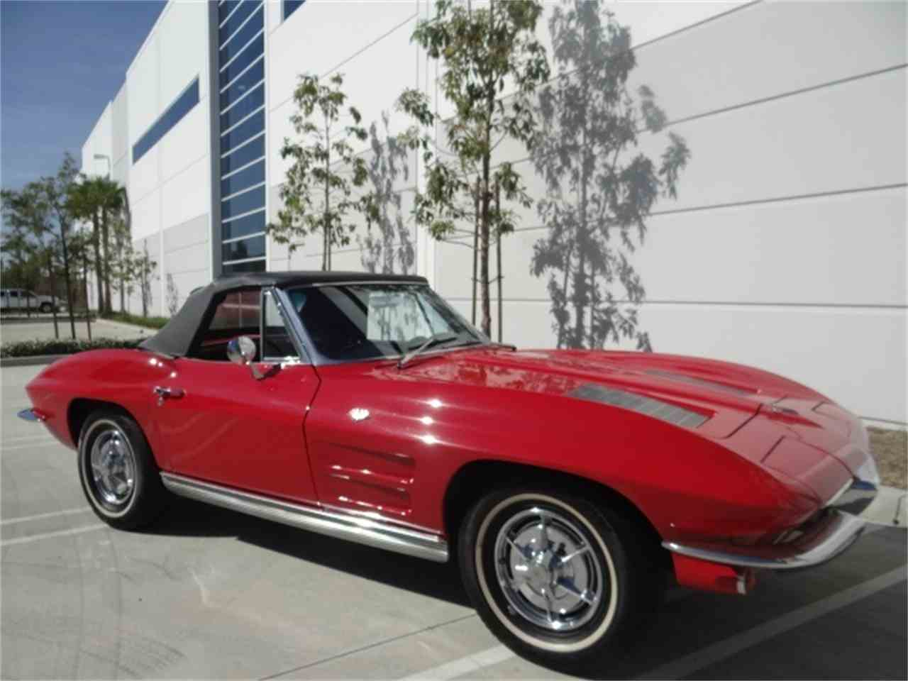Large Picture of Classic 1963 Corvette located in Anaheim California Offered by West Coast Corvettes - MUAW